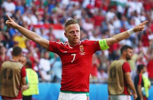 Balasz Dzsudzsak hungary captain 2 goals portugal vs hungary
