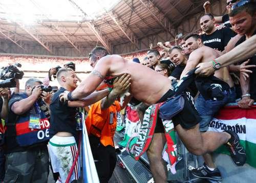 Balasz Dzsudzsak hungary fans euro 2016 knockout stage