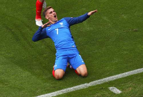 Griezmann France Ireland Euro 2016