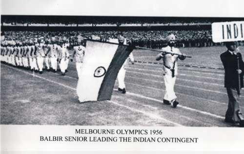 Balbir Singh Sr. India Hockey Olympic Contingent 1965