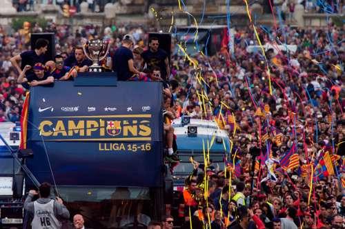 Barcelona La Liga win