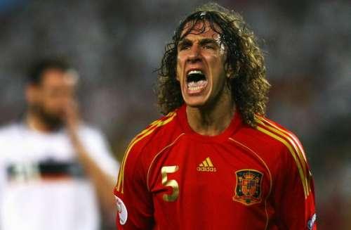 Carles Puyol Euro Spain