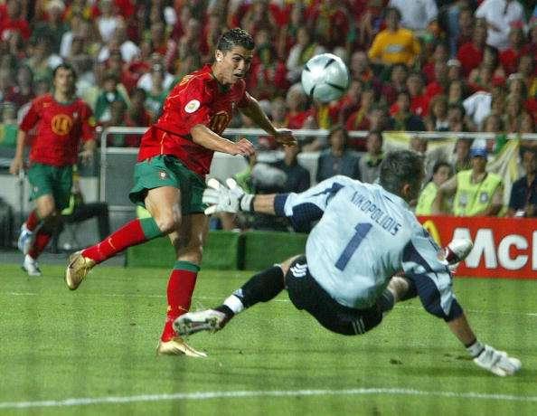 Cristiano Ronaldo Antonios Nikopolidis