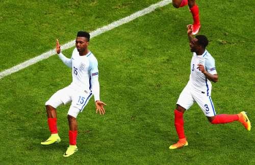 daniel sturridge dance england vs wales uefa euro 2016 england national team gareth bale