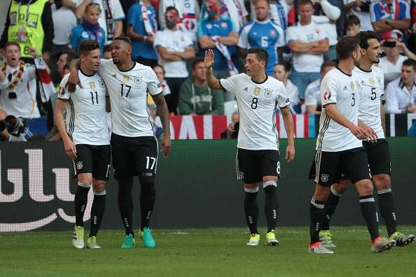 Euro 2016: Germany brush aside Slovakia 3-0 and progress into the quarter-finals