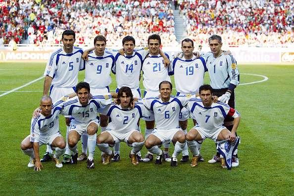 Greece team in 2004
