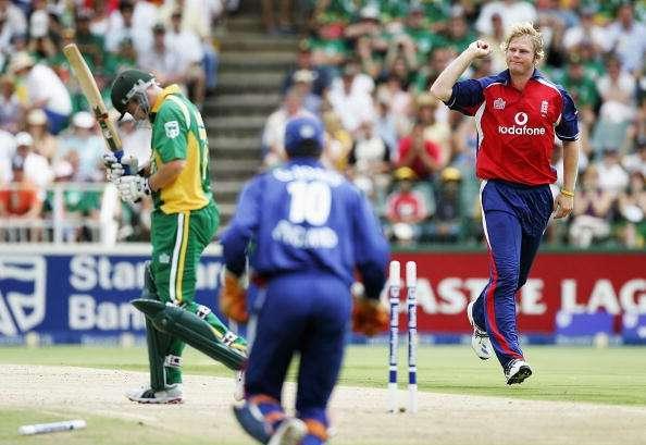 Matthew Hoggard's ODI career never really got going