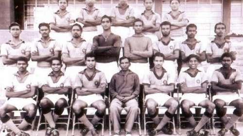 Indian football team 1956