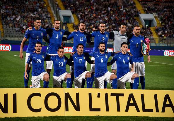 The National Football Team of Italy took to social media to release the  official Euro 2016 kit. Designed and produced by Puma e55fb418adf75