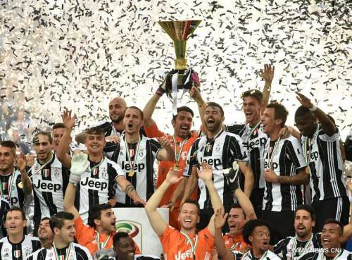 Juve win Serie A