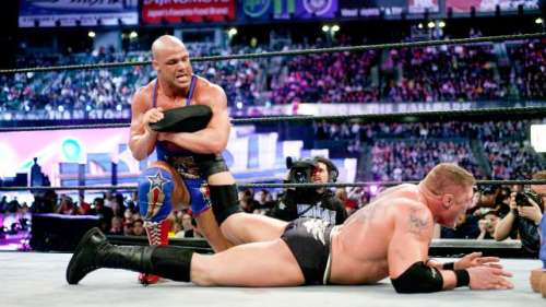 When it came to Kurt Angle, it was either Tap or Snap