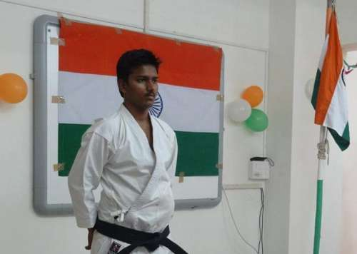 Manish Sikhre MMA fighter