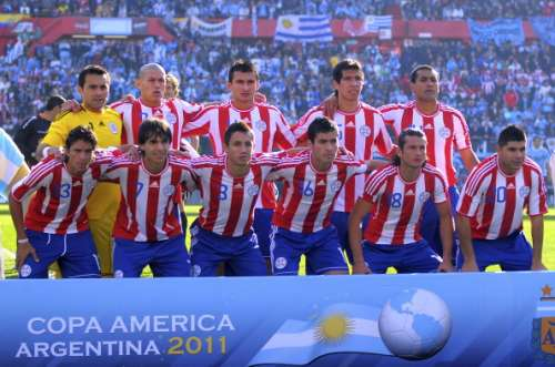 Paraguay team of 2011