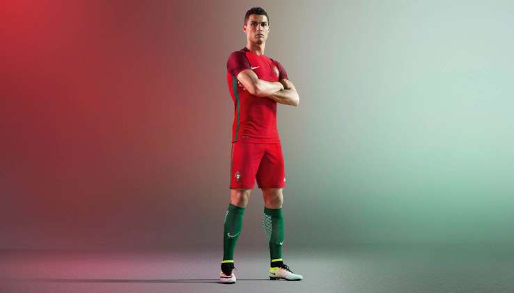 new concept b4102 f151e Portugal Euro 2016 kit released: See photos of Cristiano ...