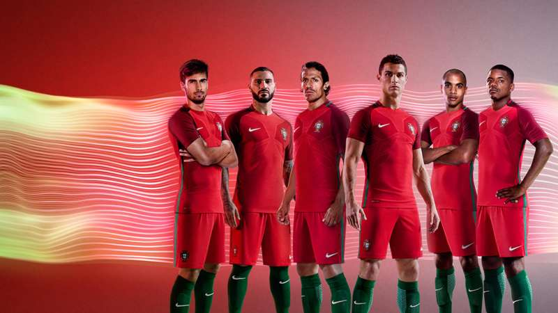 914043949 Portugal Euro 2016 kit released  See photos of Cristiano Ronaldo in ...