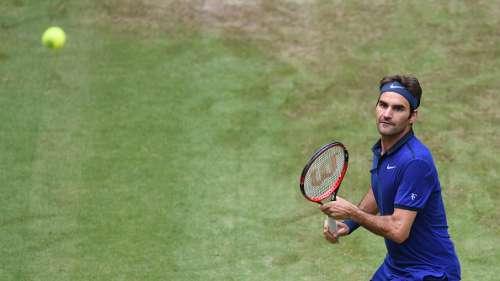 Roget Federer Halle