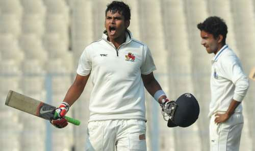 Shreyas Iyer was the highest run-scorer in Ranji Trophy 2015-16 season