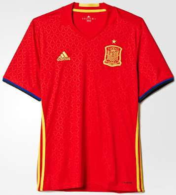 fcd2336102 Spain Euro 2016 kit released