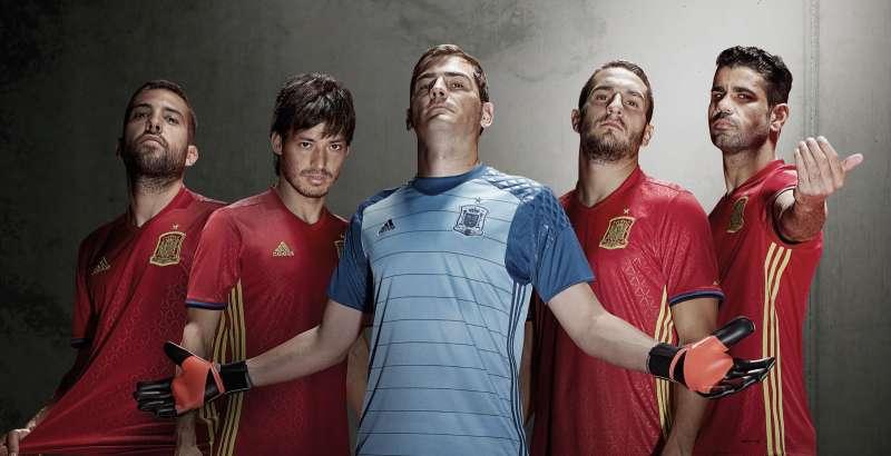 9dc04097112 Spain Euro 2016 kit released