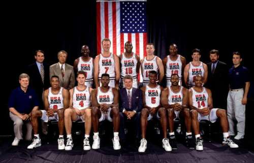 1992 Olympics Basketball Dream Team