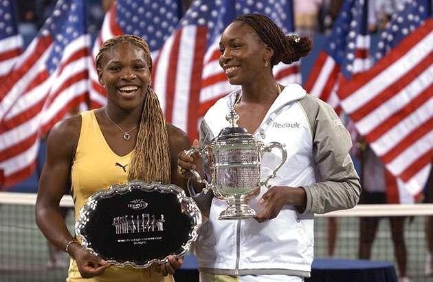 Venus Serena Williams US Open 2001