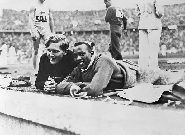 Jesse Owens Luz Long 1936 Olympics Berlin