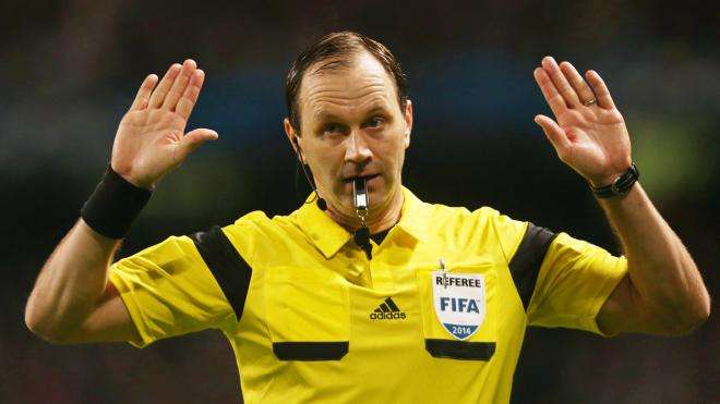 Multi-millionaire referee Jonas Eriksson to officiate Euro 2016 semi-final between Portugal and Wales