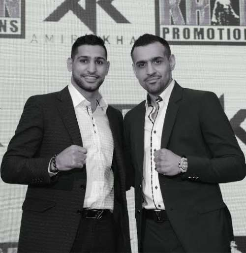 SFL Owner Bill Dosanjh with Co-owner Amir Khan