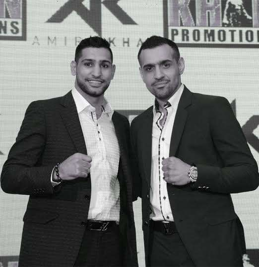 SFL Owner Bill Dosanjh with Co-owner Amir Khan