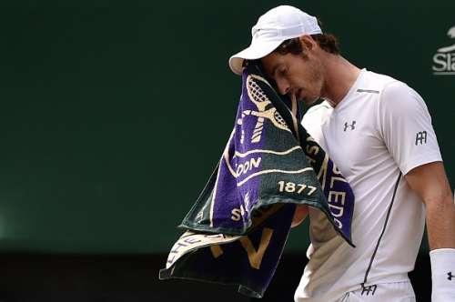 Andy Murray Wimbledon towel