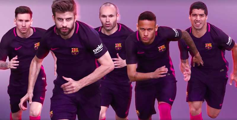 cb9976278c3 FC Barcelona unveil their away kit for the 2016-2017 season