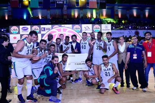 Chennai Slam UBA United Basketball League Pro Alliance champions 2016 Season 3