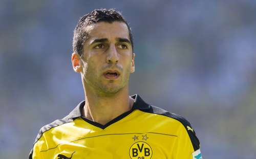 Mkhitaryan Manchester United Dortmund confirm official