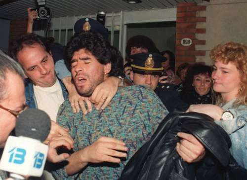 Diego Maradona arrested