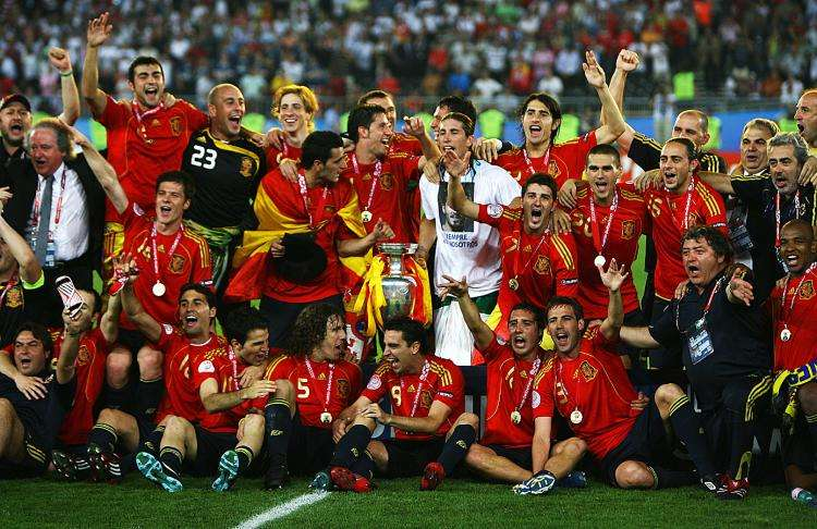 The rise and fall of Spain's golden generation