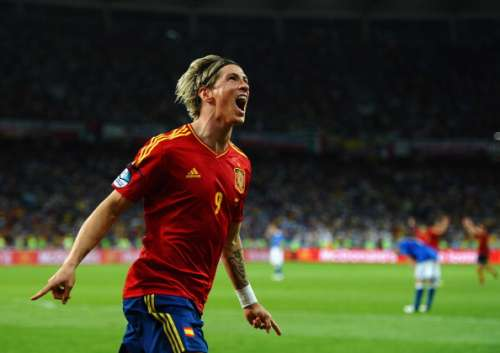 fernando torres spain vs italy euro 2012 final