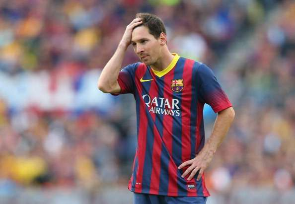 Lionel Messi could leave Barcelona after tax verdict says La Liga chief Javier Tebas