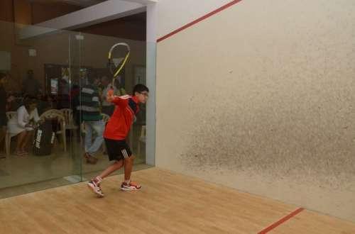 squash nationals qualifying  neel joshi and tushar shahani