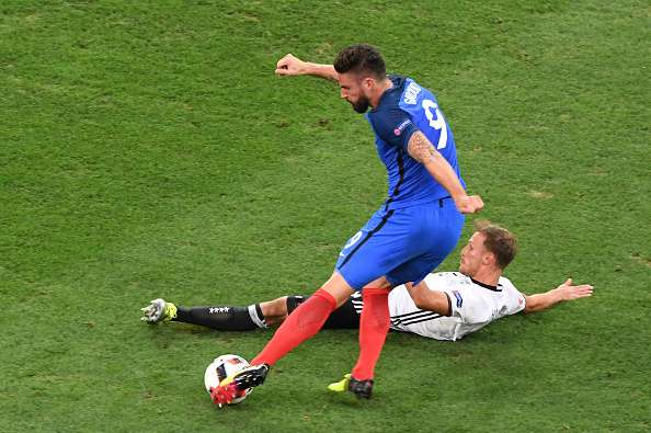 Euro 2016: 5 things that are quicker than Olivier Giroud