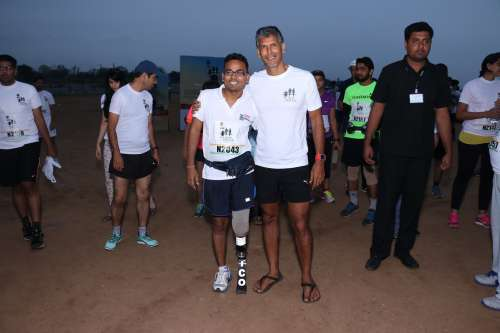 Milind Soman The Great India Run