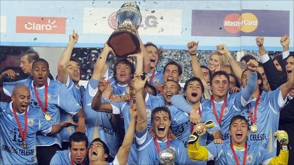 uruguay vs brazil copa america 1995