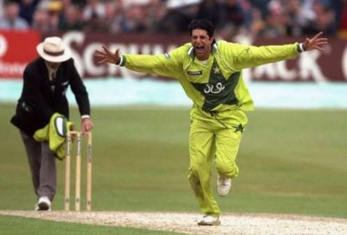 Wasim Akram has two hat-tricks which were within a week of each other