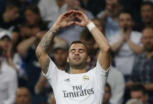 Football Soccer - Real Madrid v Manchester City - UEFA Champions League Semi Final Second Leg - Estadio Santiago Bernabeu, Madrid, Spain - 4/5/16 Real Madrid's Jese looks dejected after a missed chance Reuters / Sergio Perez/ Livepic/ Files
