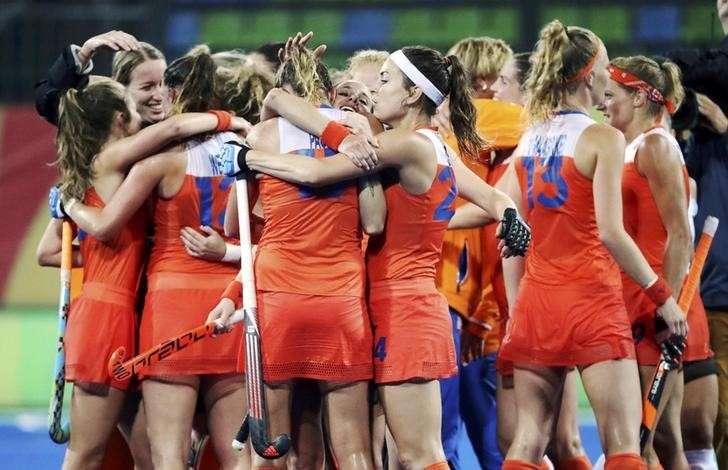 Image result for Germany vs Netherlands Women's hockey