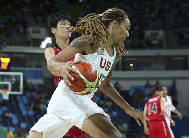 2016 Rio Olympics - Basketball - Quarterfinal - Women s Quarterfinal USA v  Japan - Carioca Arena 3ac8a70e69