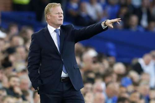 Football Soccer Britain - Everton v Yeovil Town - EFL Cup Second Round - Goodison Park - 23/8/16 Everton manager Ronald Koeman Action Images via Reuters / Ed Sykes Livepic