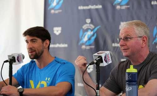 Michael Phelps Bob Bowman