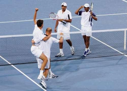 Paes/Bhupathi vs Ancic/Ljubicic, 2004 Athens Olympics