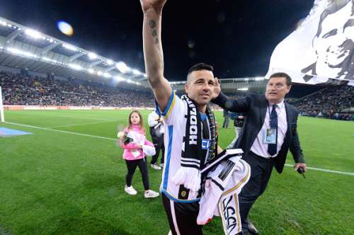 Di Natale Italy Udinese Never Retire