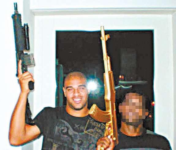 Ex-Brazilian striker Adriano now wielding guns for drug